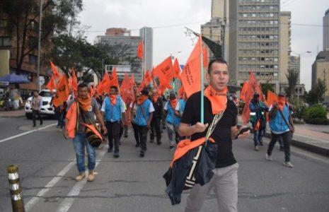 Colombia. Solidaridad argentina con el vocero del Congreso de los Pueblos, Jimmy Moreno, detenido en Popayán