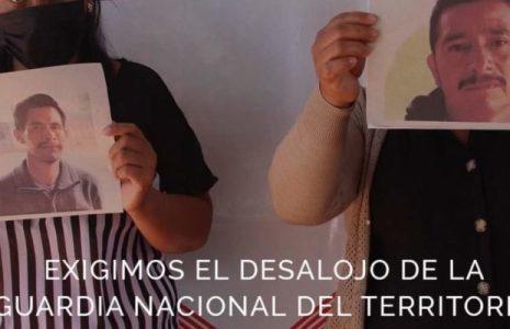 México. Chiapas: Exigen el desalojo de la Guardia Nacional del territorio tseltal
