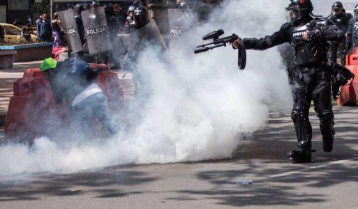 Al menos 19 muertos en la represión de las protestas sociales en Colombia