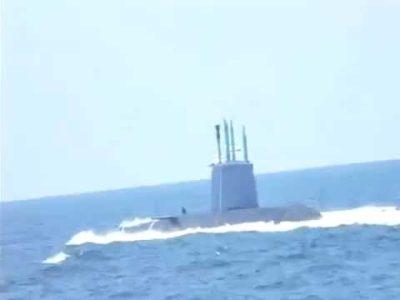 Argelia. Submarinos argelinos persiguen a un submarino israelí que espiaba