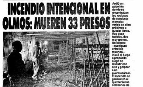 Argentina. A 30 años de la Masacre en Olmos, el