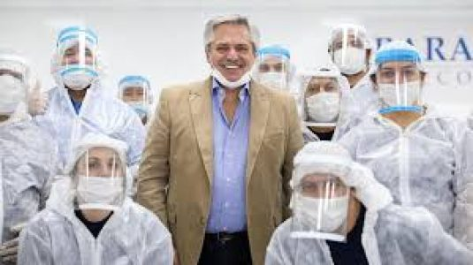 Argentina. Alberto Fernández anunciará la cuarentena hasta 24 de mayo