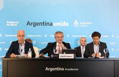Argentina. Alberto Fernández confirmó la extensión de la cuarentena obligatoria