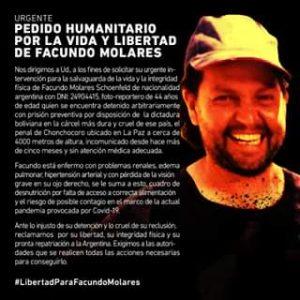 Argentina. Carta a Alberto Fernández del padre del reportero argentino