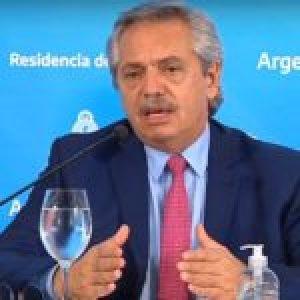 Argentina. El presidente Alberto Fernández anunció la extensión del aislamiento social obligatorio hasta el 12 de abril inclusive (Video completo)  … (Más información)