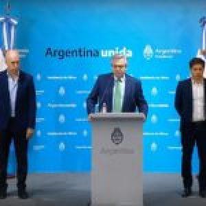Argentina. El presidente Alberto Fernández anunció un aislamiento social, preventivo y obligatorio