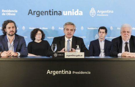 Argentina. Fernández anunció la extensión del aislamiento hasta el 10