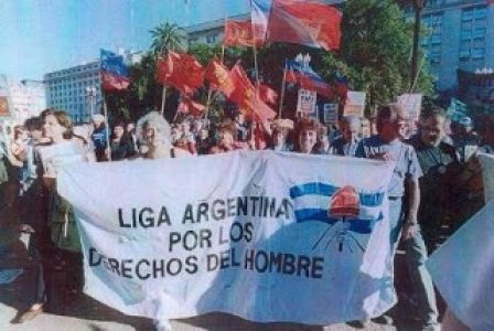 Argentina. La Liga Argentina por los DD.HH denuncia campaña de