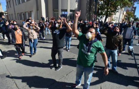 Argentina. Municipales cordobeses marcharon en contra de la reducción de