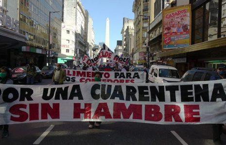 Argentina. Numerosas organizaciones sociales ganaron las calles céntricas contra el