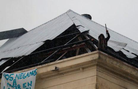 Argentina. Persona privada de libertad que cayó de un quinto