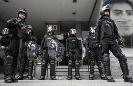 Argentina. Preocupante la creación de una fuerza de choque que