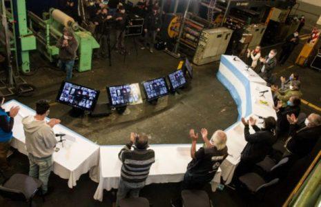 Argentina. Resumen gremial y social. 1º de Mayo: Acto virtual,