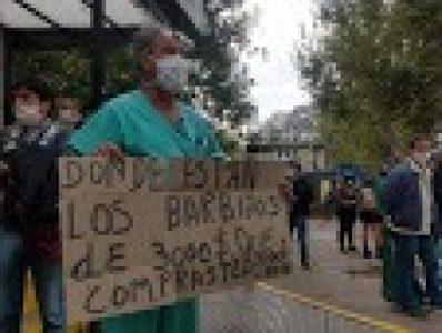 Argentina. Resumen gremial y social. Murió el primer médico por