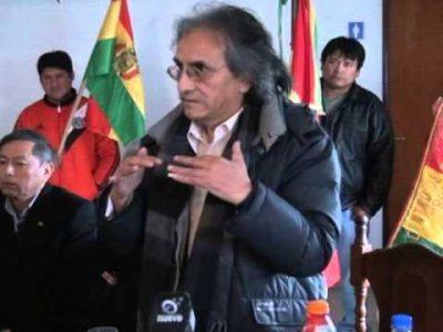 """Bolivia. Antonio Abal: """"En el país hay tres fuentes de"""