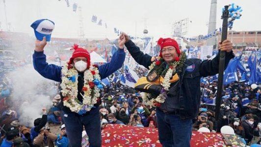 Bolivia. Arce ganó en La Paz con 65,3% de los