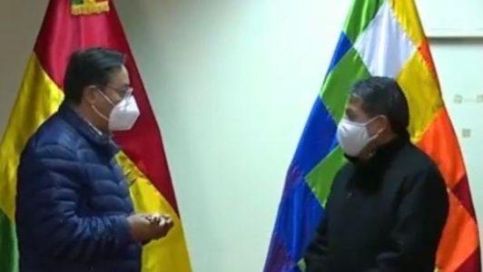 Bolivia. Presidente Arce viajó a Brasil para una revisión médica