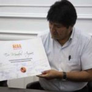 Bolivia. Evo recibió mensaje de apoyo de delegadxs de la Coordinación Política de ALBA Movimientos: «Es tiempo de Nuestra América»