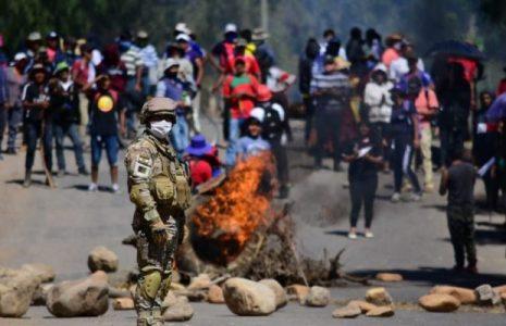 Bolivia. Fotoreportaje sobre la resistencia a la militarización impuesta por