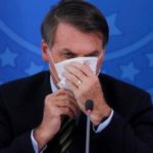 """Brasil. Bolsonaro llama """"lunático"""" al gobernador de Sao Paulo por decretar la cuarentena"""