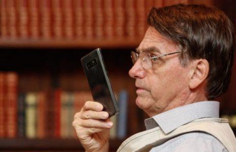 Brasil. La publicación de Bolsonaro está marcada por Instagram como