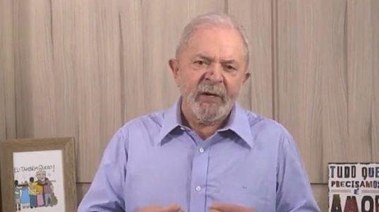 Brasil. Lula: depende de los trabajadores construir un mundo pospandémico