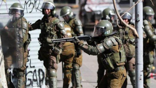 Chile. Movimiento Patriótico Manuel Rodríguez: «Carabineros es una policía criminal