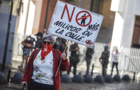 Chile. 1º de Mayo con movilización, represión y detenidos en