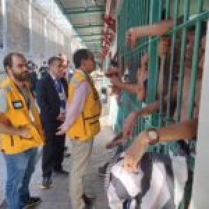 Chile. Casi  24 horas sin comida: Denuncian que Gendarmería siguió violentando a la  población penal de Santiago 1 tras protesta por mayor sanidad