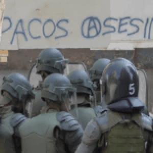 Chile. Como en dictadura: Represión policial en las poblaciones