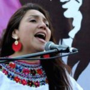 Chile. Con Paty Carmona se fue una maravillosa compañera del canto y la lucha de Nuestramérica