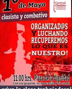 Chile. Convocan a recordar el 1º de Mayo en la
