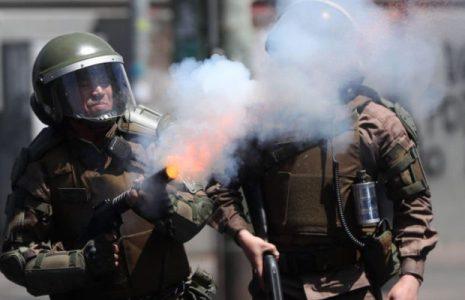 Chile. El rol de Gran Bretaña en la represión policial: