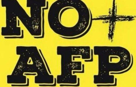 Chile. La Coordinadora «No+AFP» realizó un mitin este martes en
