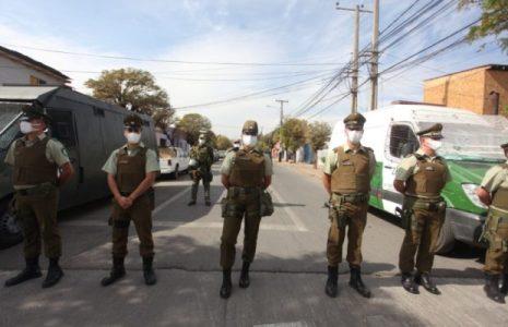 Chile. Protestas de personas privadas de libertad en cárcel con