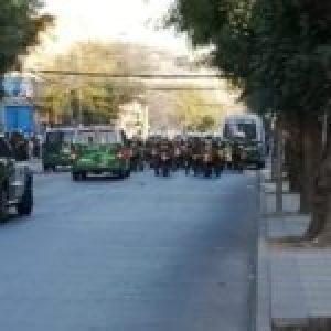 Chile. Tercer día de manifestaciones en Viña del Mar / Varios detenidos