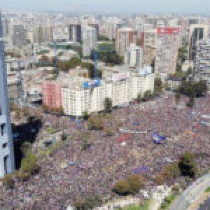 Chile. Tres fotos que desmienten el informe oficial sobre cuántas personas se movilizaron este 8M