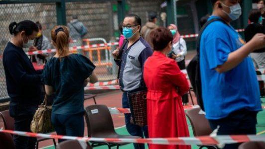 China. Hong Kong dará subsidio a quienes den positivo por