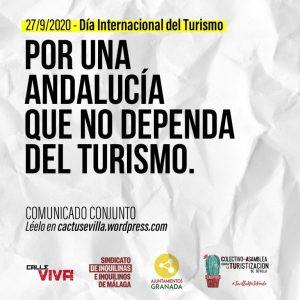 Colectivos andaluces lanzan el manifiesto