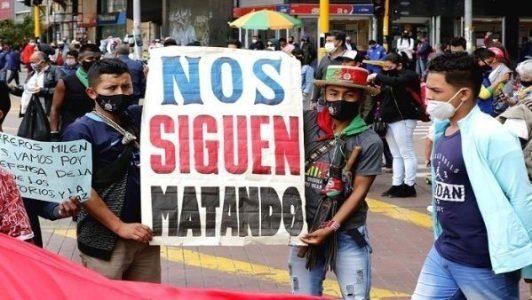 Colombia. Asesinan a guardia indígena en departamento del Chocó