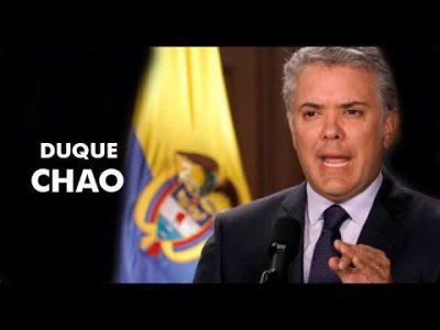 """Colombia. Canción """"Duque Chao"""": sentir antiuribista, que caiga el gobierno"""