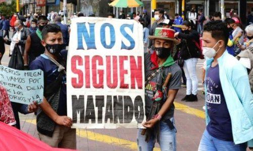 Colombia. Denuncian el asesinato de campesino, miembro de la Junta
