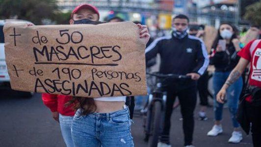 Colombia. Denuncian el asesinato de una excombatiente y de un