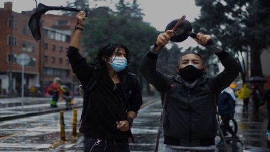 Colombia. En el día 44 del paro exigen que cese