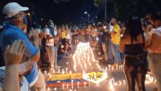 Colombia. Fuerzas policiales y militares del narco régimen de Duque