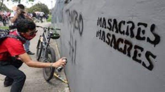 Colombia. Nueva masacre en Colombia: 4 hombres asesinados en Tumaco