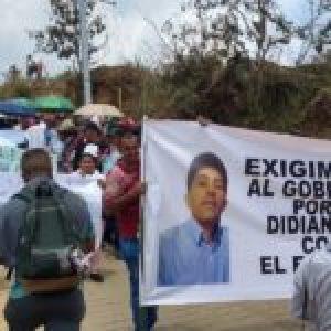 Colombia. Campesinos exigen que Ejército diga la verdad del asesinato de Didian Agudelo