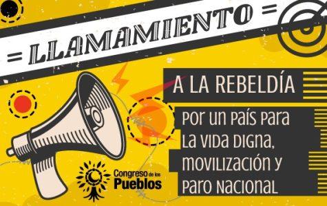 Colombia. Congreso de los Pueblos: Llamamiento a la Rebeldía