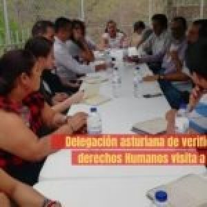 Colombia. Delegación asturiana de verificación de Derechos Humanos visita a Casanare