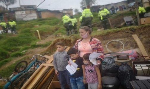 Colombia. Denuncian desalojos en Bogotá en medio de la Covid-19
